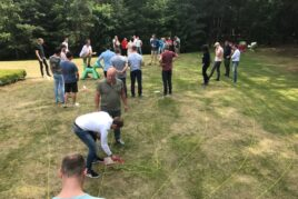 The fast-growing organisation and its interactive leadership weekend